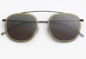 Illesteva Mykonos Ace Blond/Gun metal Sunglasses