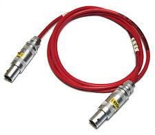 Hochspannungs-Kabel Raychem 24AWG-10KV mit 2x LEMO Koax Stecker Gr.1, 1m