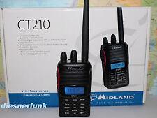 Midland CT210 128 Kanal Amateurfunkgerät 2 Meter VHF mit Scrambler Funktion 4W