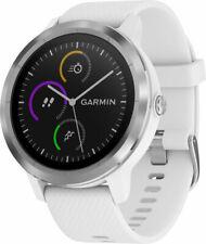 Garmin Vivoactive 3 GPS Smartwatch Weiß Mit Edelstahl Hardware