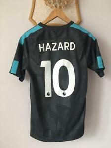 FC CHELSEA 2017 2018 THIRD FOOTBALL SOCCER SHIRT JERSEY NIKE EDEN HAZARD #10 MEN