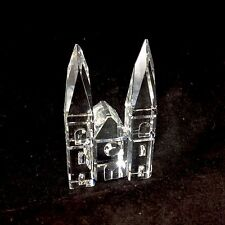 Swarovski Crystal Castle Figurine Mythical Building Collectible Art Glass
