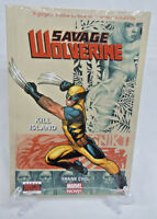 Savage Wolverine: Kill Island 1 2 3 4 5 Marvel Comics HC Hard Cover New Sealed