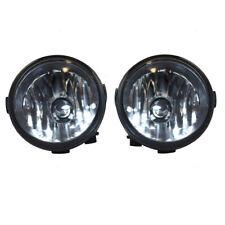 New Pair Set Fog Light Lamp Lens Housing Assembly for Infiniti Nissan SUV Van