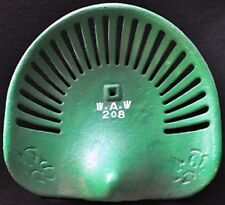 W.A.W. Tractor Seat Cast Iron Green New Cabin Lodge Man Cave Home Garage Decor
