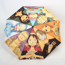 Colorful printed umbrella of One Piece characters Luffy/Zoro/Nami/chopper/Usopp!