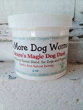 Natural Diatomaceous Earth Dog Puppy Dewormer Treatment Parasite Control Powder