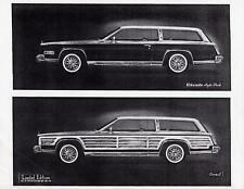 Old Print.  1980 Cadillac Eldorado Hyde Park & Carmel Auto Ad