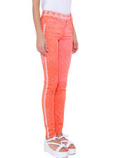 Maison MARTIN MARGIELA MM6 Arancione Bandana Stampa Jeans Attillati * IT 38/UK 6 * BNWT