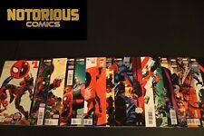 Spider-Man Deadpool 1-18 Complete Comic Lot Run Set Joe Kelly McGuinness Marvel