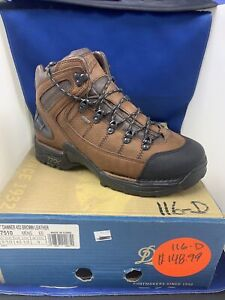 """Danner 453 BROWN LEATHER 5.5""""  HIKING BOOTS Men's Size 9.5 EE  NEW IN BOX"""