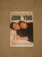 The Ballad Of John and Yoko 1982 Book