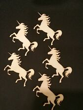 Wooden Laser Ply Unicorn Shapes, Craft, Embellishments, 85mm
