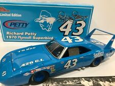 1970 #43 Richard Petty  Plymouth Superbird Southern Chrysler 1/1002