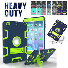 """Hybrid Shockproof Case Heavy Stand Cover for iPad 2/3/4/5/6 Mini Air 2 9.7"""" 2018"""