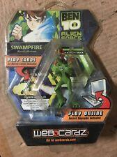 Ben 10 Alien Force Swampfire Action Figure With Online Codes From WebCardz
