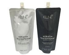 Keune Keratin Straightening Cream Rebonding System NORMAL 400ml FREE SHIPPING