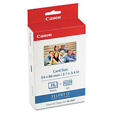 CANON SELPHY KC-36IP ORIGINAL INK AND 36 SHEETS OF 100x148mm PAPER  (7739A001AB)
