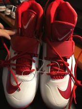 Jordan Super Fly 4 JCRD Basketball Athletic Shoes Mens Size 13.5 NWT Wht/Red