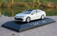 1/43 Toyota Camry 2018 White Diecast model Collection Toy Gift