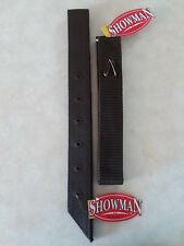 Black Premium Nylon OffSide Billet & Latigo Tie Strap Western Saddle Girth Cinch