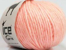 Peru Alpaca Bulky Yarn Light Pink #48705 Ice 50g Merino Wool Alpaca Acrylic