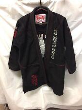 Woldorf USA Youth Black Karate Gi Sz 4-A2 Good Luck Gi