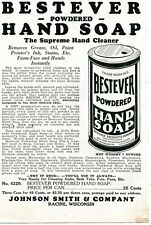 1926 small Print Ad of Bestever Powdered Hand Soap Chicago