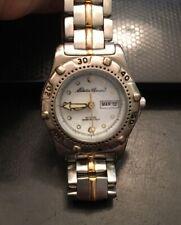 Eddie Bauer SM Classic Sports Bracelet Watch 3759 Two Tone, WR