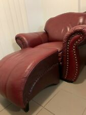 70's vintage look leather lounge suite