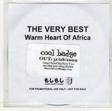 (EO828) The Very Best, Warm Heart of Africa - 2009 DJ CD