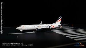 Gemini Jets 1:400 REX Airlines (ZL) B737-800WL VH-RQC