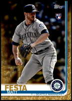 Matt Festa 2019 Topps Update 5x7 Gold #US111 RC /10 Mariners