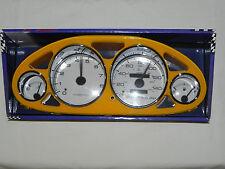 94-01 Acura Integra EuroDash Cluster Cover Gauges Bezel Trim Yellow 5003y