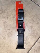 Reddy Black  Dog Collar, Medium 14-20 Inches