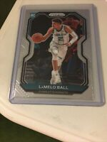 LAMELO BALL 2020-21 Panini Prizm Basketball ROOKIE RC Card #278 - HORNETS