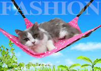 Hammock Swing Bed for Puppy Cat Kitten  Ferret Bunny Rabbit Rat Small Animals