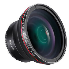 Neewer 58mm 0.43X Wide Angle Lens with Macro Portion for Canon Nikon DSLRs