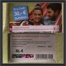 30,00 € Xtra Cash Nachlade Code Telekom Cashkarte Aufladekarte mit 30€ per Email