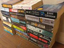 Lot of 10 John Grisham Legal Thriller Mystery ALL Paperback PB Books *RANDOM MIX