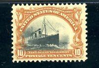 USAstamps Unused FVF US Pan-American Slow Ship Scott 299 OG MLH