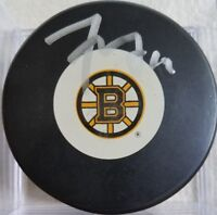 Tyler Seguin HAND Signed AUTOGRAPHED Boston Bruins Hockey Puck JSA STICKER ONLY