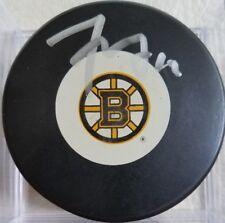Tyler Seguin HAND Signed AUTOGRAPHED Boston Bruins Hockey Puck JSA STICKER ONLY