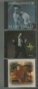 3 CD Lot - Harry Connick Jr - Come By Me - Blue Light Red Light - When My Heart