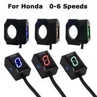 Motorcycle Speed Gear Indicator LED Display Waterproof for Honda CBR300/400/500R