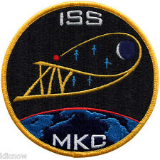 """International Space Station - Expedition 14 - Embroidered Patch 10cm (4"""") Dia"""
