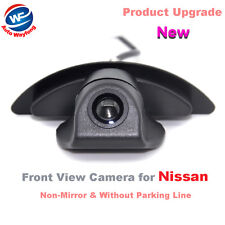 HD CCD Car Camera Front View Camera for Nissan X-Trail Tiida Livina Qashqai