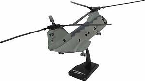 """Boeing CH-46 Sea Knight 18"""" Diecast 1:55 Helicopter,Collectibles, New Ray Toy GY"""