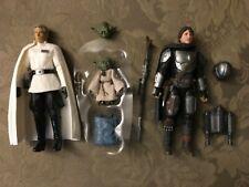 Star Wars Black Series lot Beskar armor Mandalorian din Djarin head helmet yoda