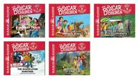 NEW Boxcar Children Set of 5 Great Adventure Audio Books CD Disc Gertrude Warner
